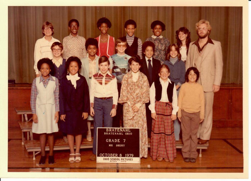 1979-80 Grade 7, Bratenahl School