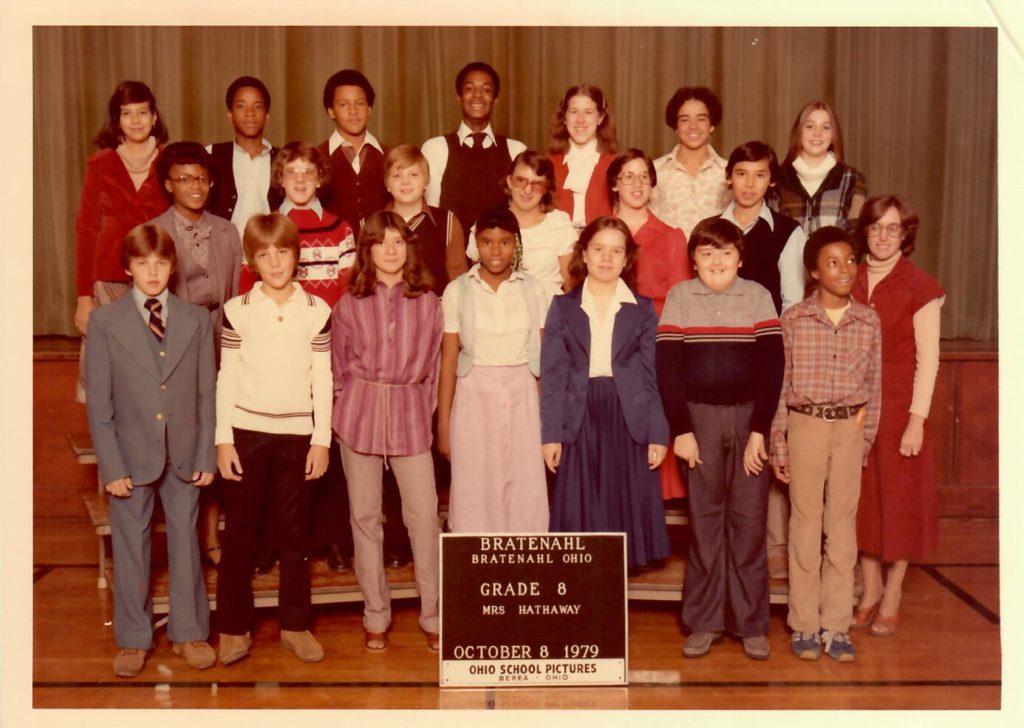 1979-80 Grade 8, Bratenahl School