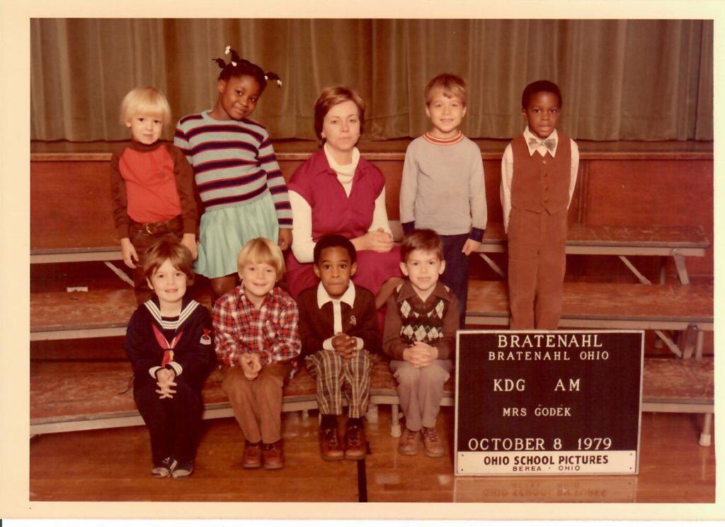 1979-80 Kindergarten Class, Bratenahl School