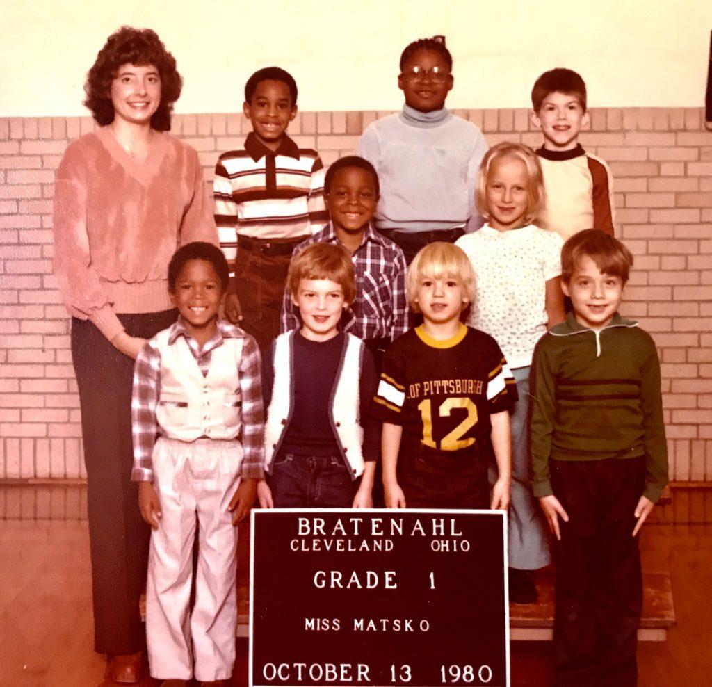 1980-81 Grade 1, Bratenahl School