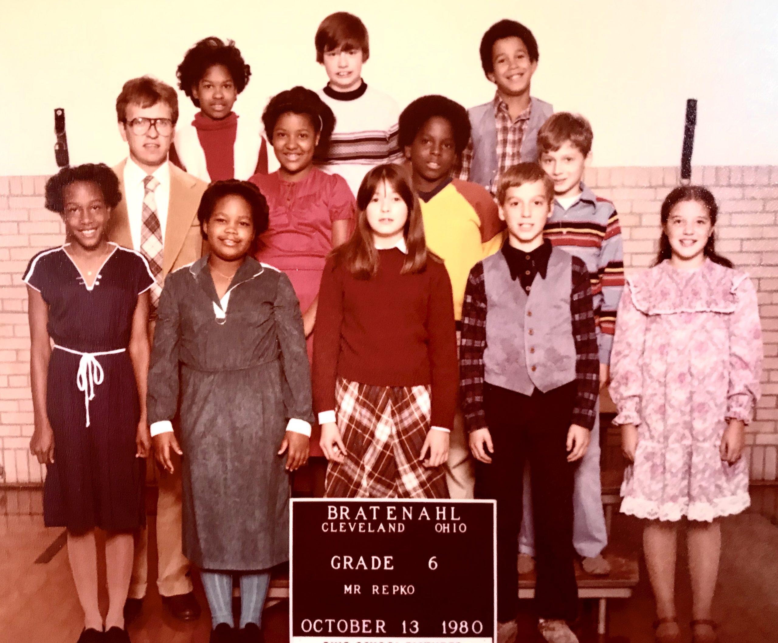 1980-81 Grade 6, Bratenahl School