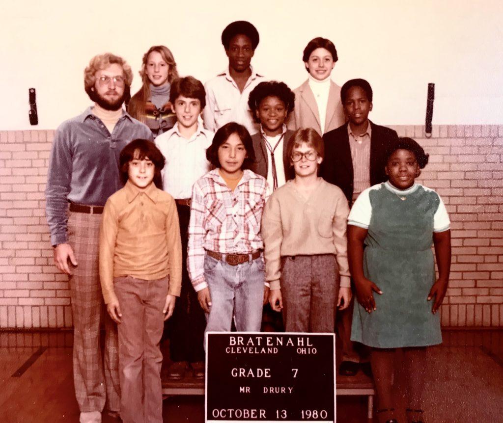 1980-81 Grade 7, Bratenahl School