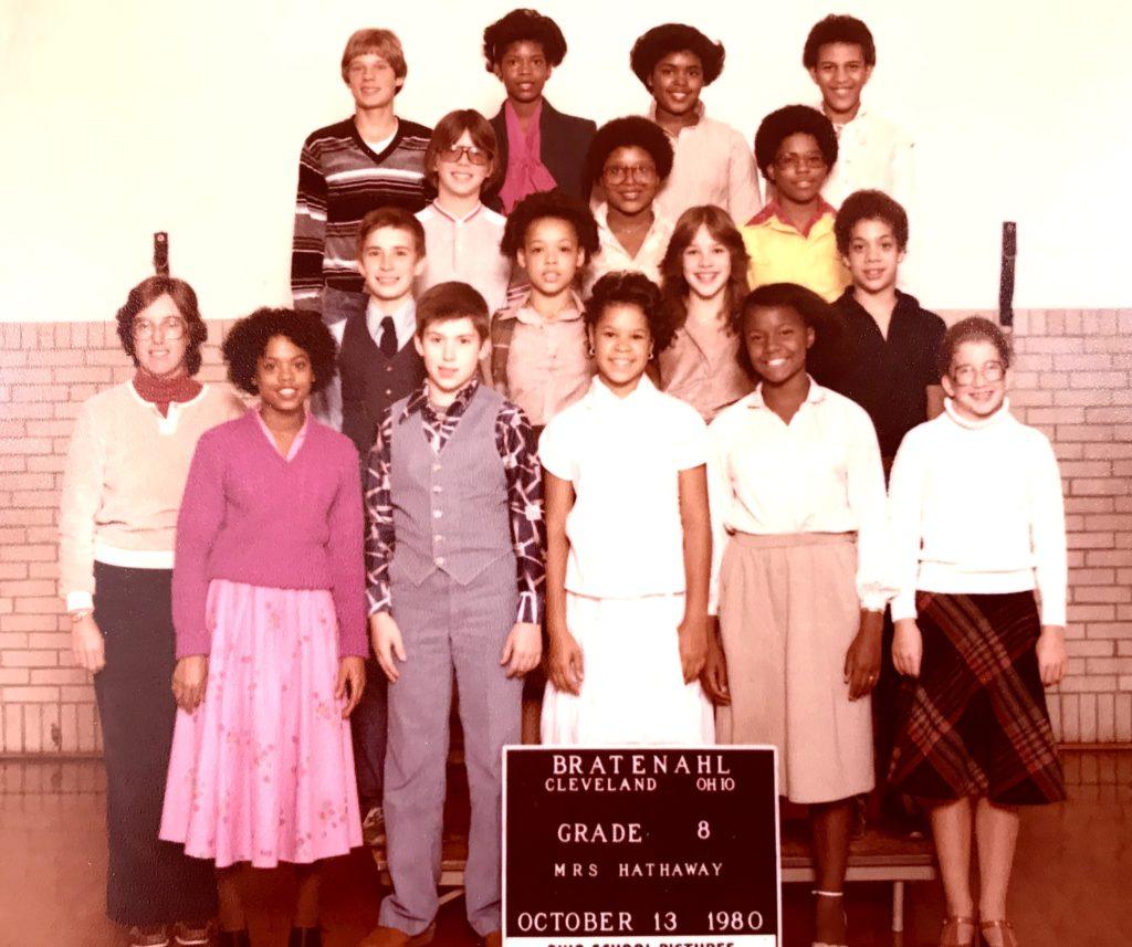 1980-81 Grade 8, Bratenahl School