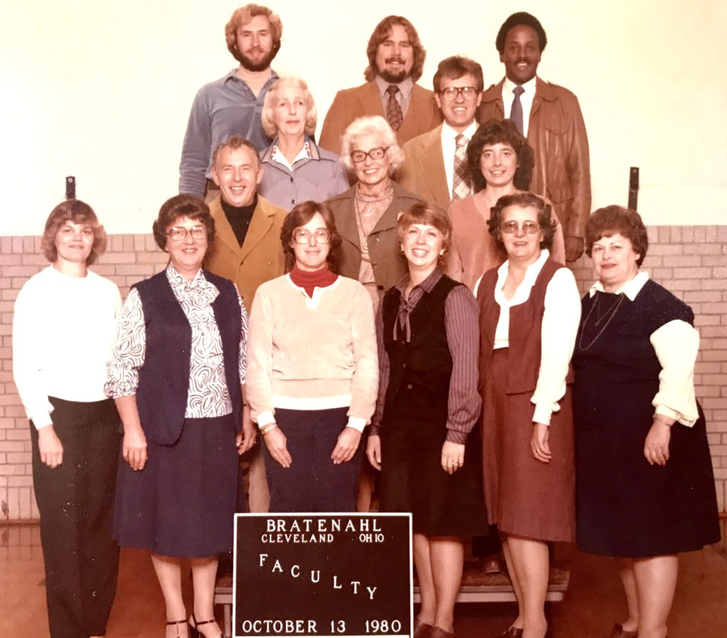 1980-81 School Faculty, Bratenahl, Ohio