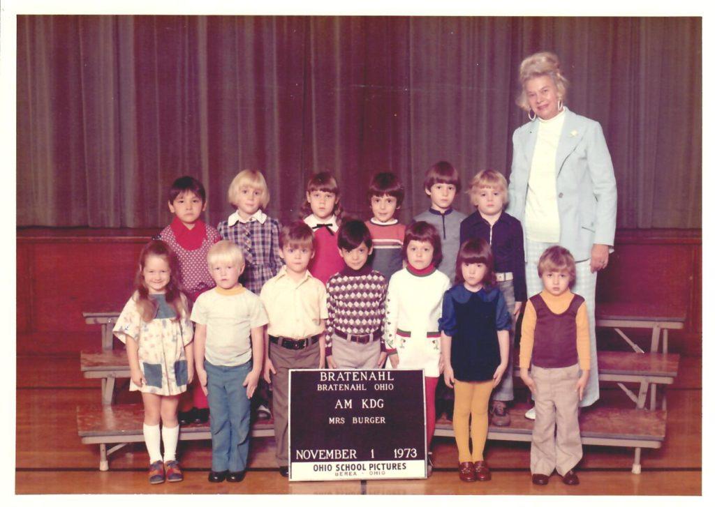 1973-74 Kindergarten