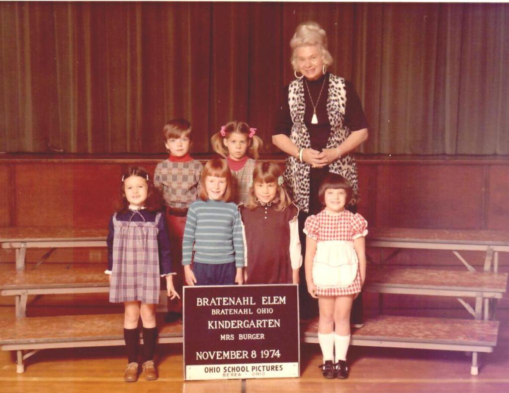 1974-75 Kindergarten