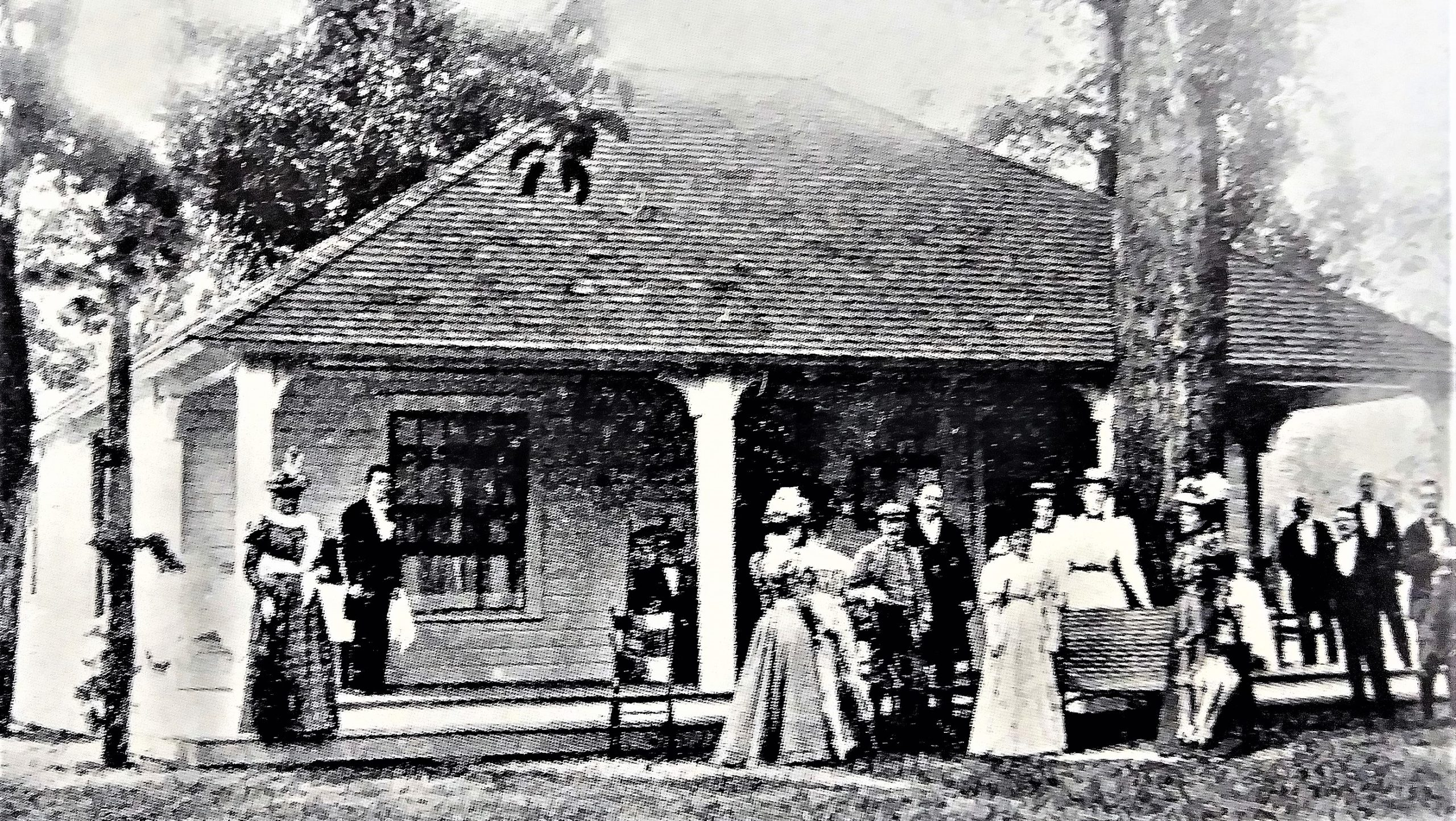 First Cleveland Golf Club Clubhouse 1898