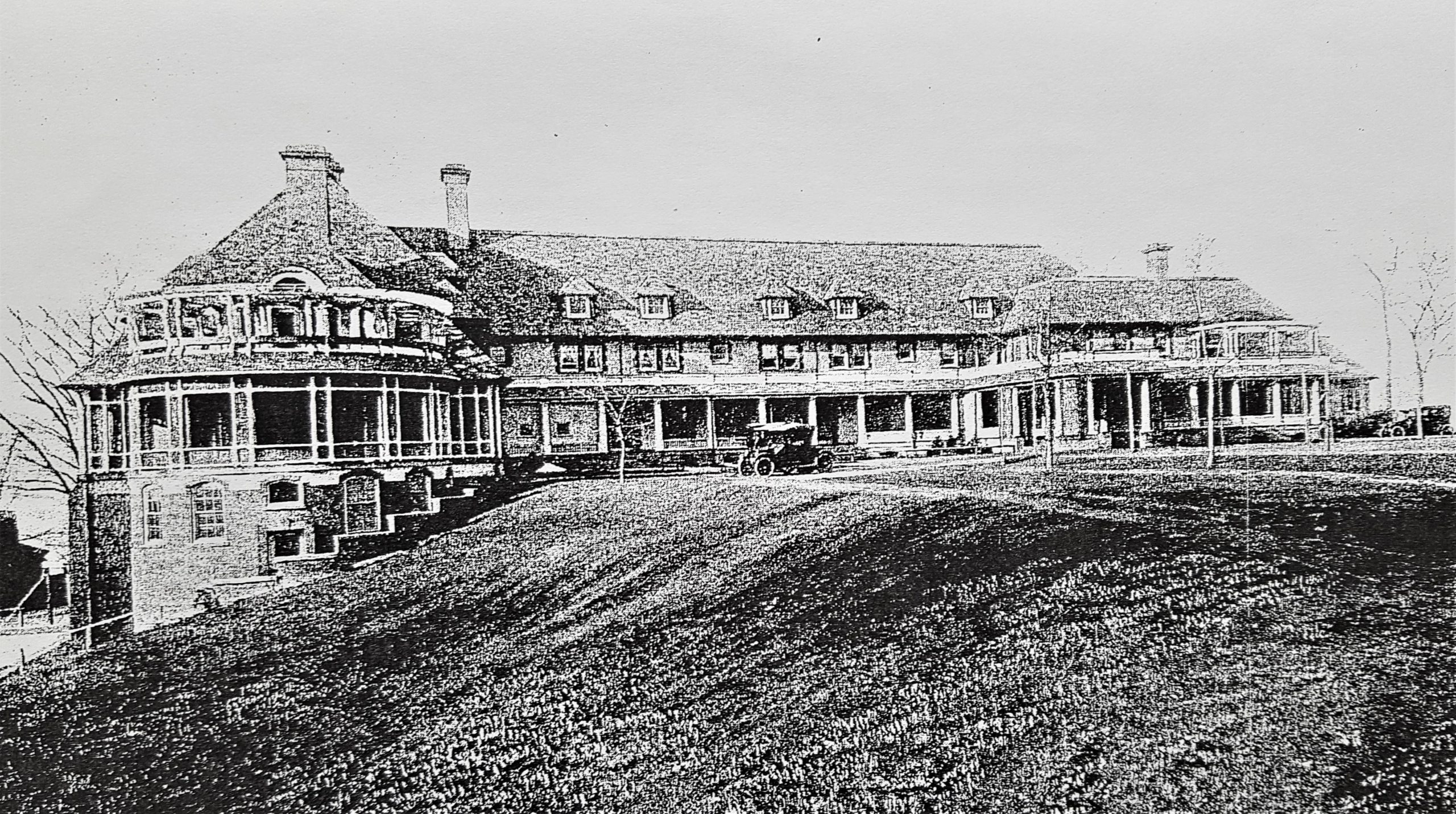 Third Country Club Clubhouse 1908