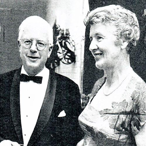 Brigham and Gertrude Britton  1967
