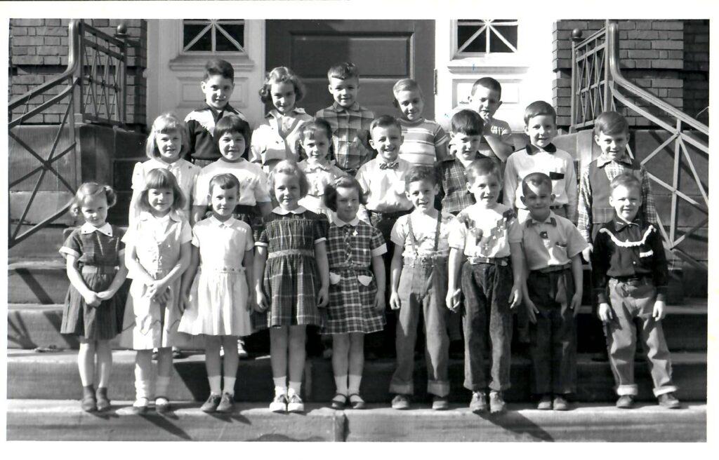 1955-56 Kindergarten
