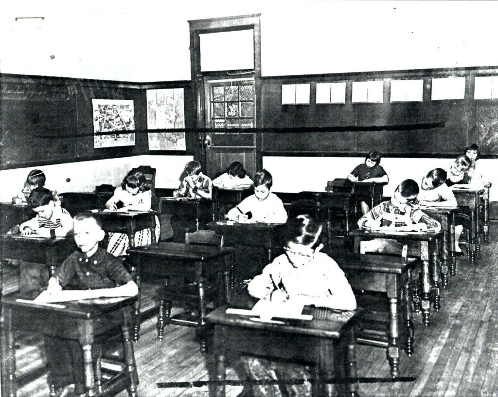 1956-57 Grade 3 in the Classroom