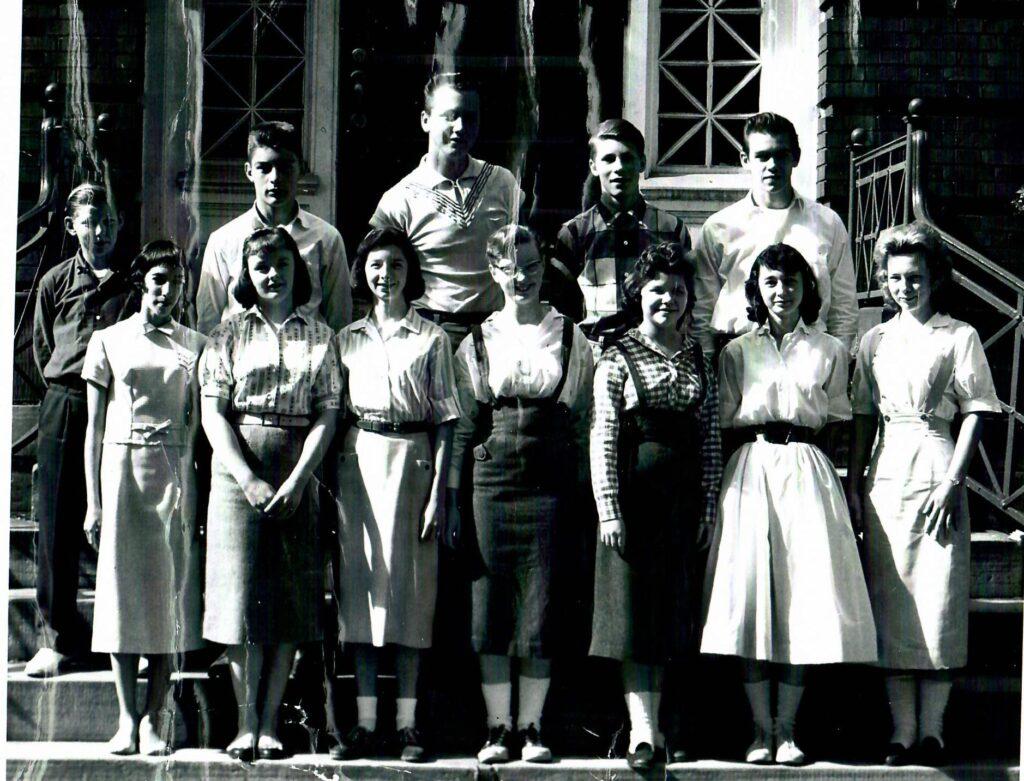 1957-58 Grade 8