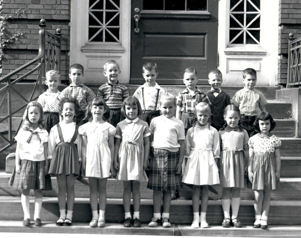 1957-58 Kindergarten