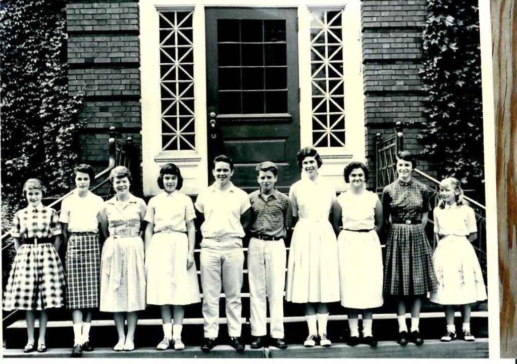 1958-59 Grade 8
