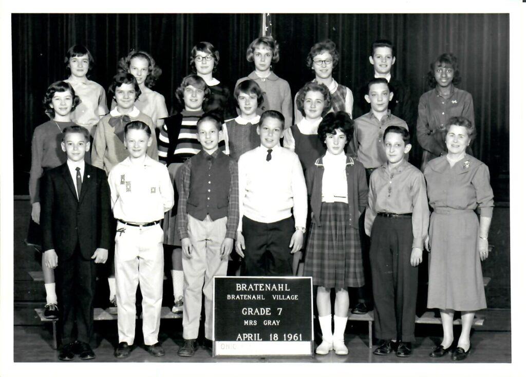 1960-61 Grade 7
