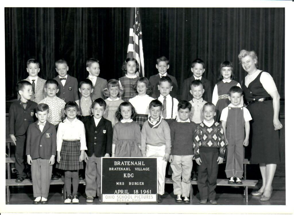 1960-61 Kindergarten