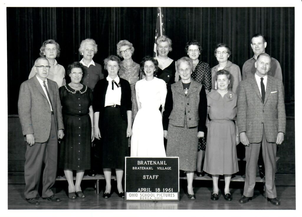 1960-61 School Faculty and Staff