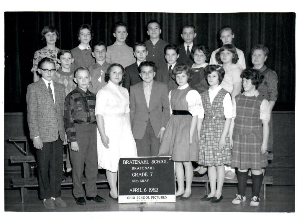 1961-62 Grade 7
