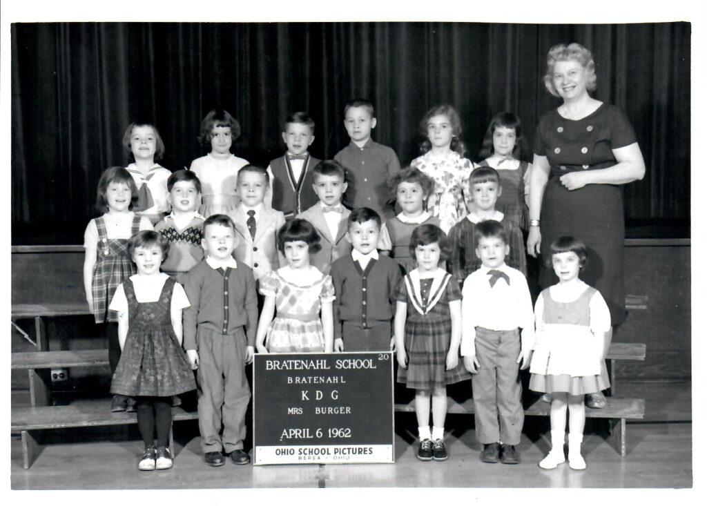 1961-62 Kindergarten