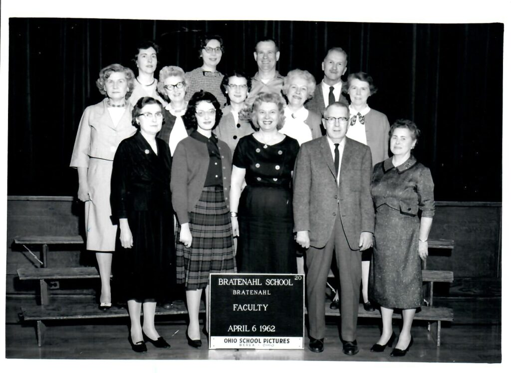 1961-62 School Faculty and Staff