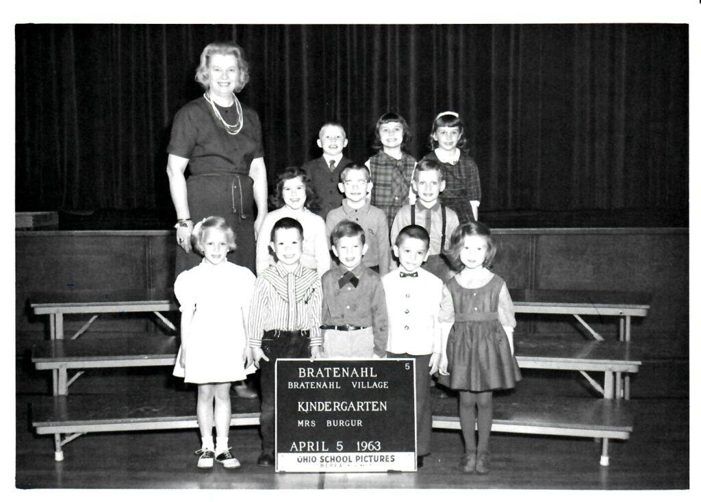 1962-63 Kindergarten