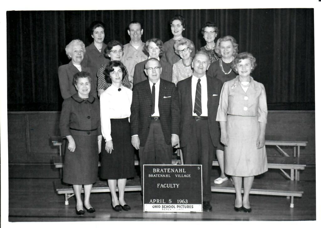 1962-63 School Faculty and Staff