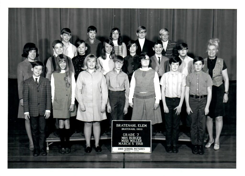 1967-68 Grade 7