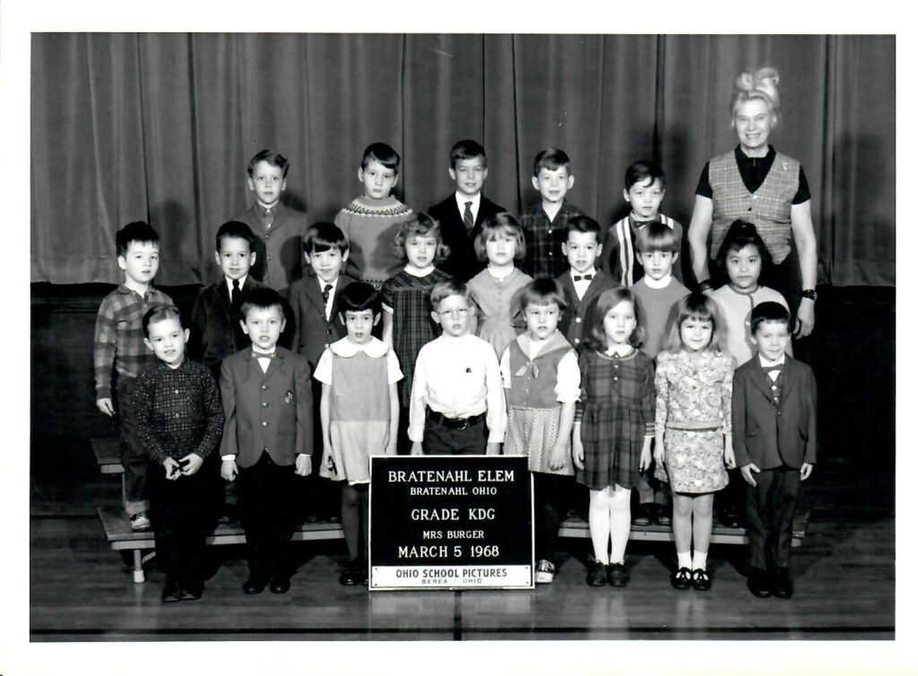 1967-68 Kindergarten