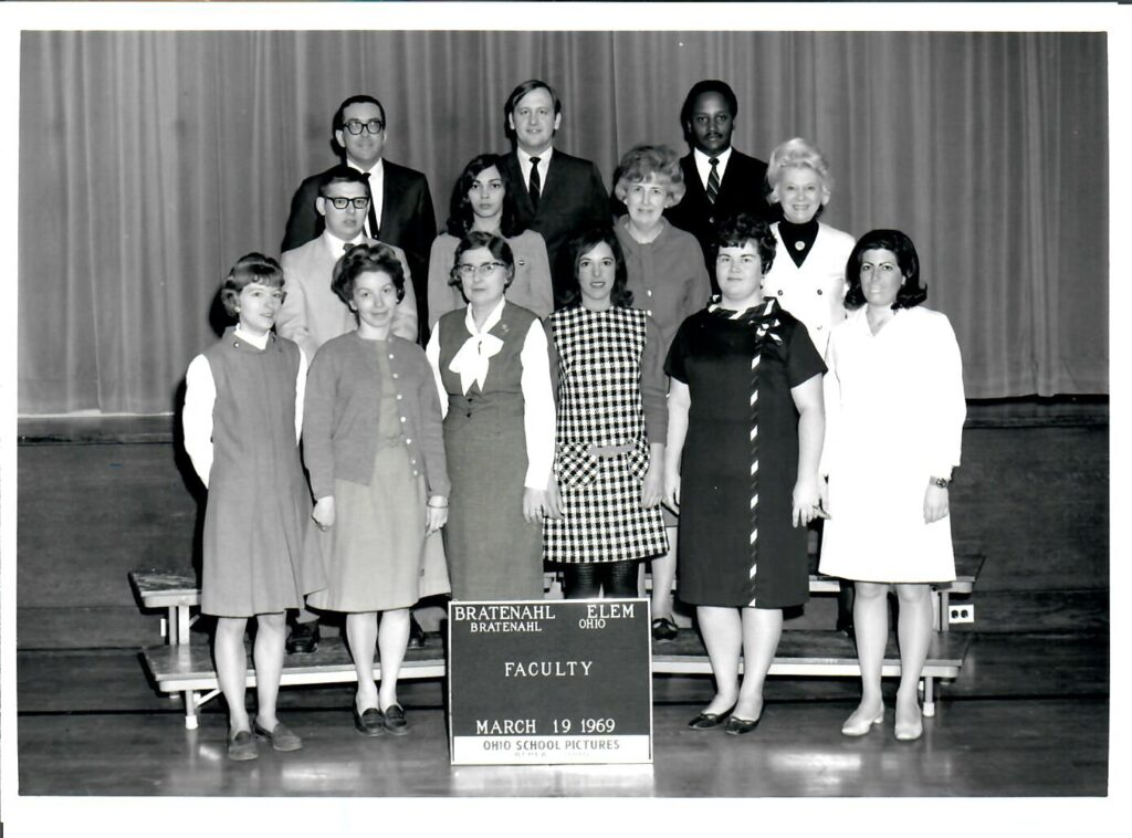 1968-69 School Faculty