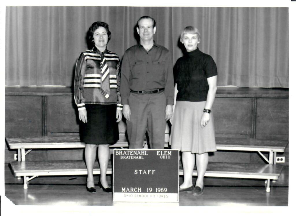 1968-69 School Staff