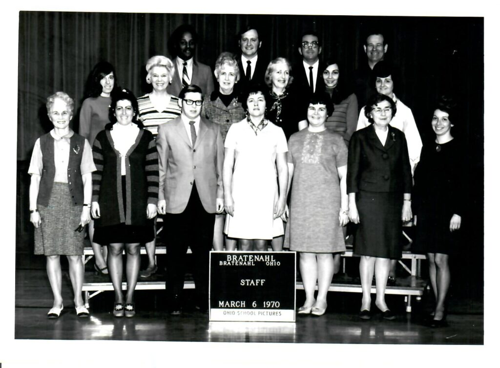1969-70 School Faculty and Staff
