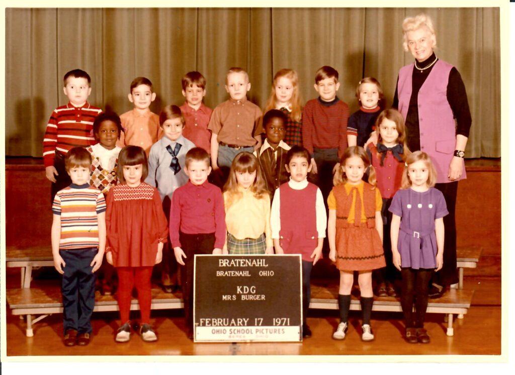 1970-71 Kindergarten