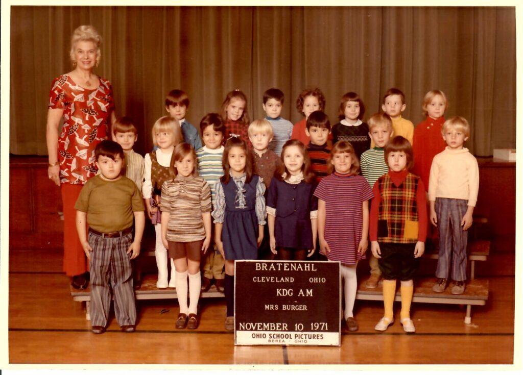 1971-72 Kindergarten