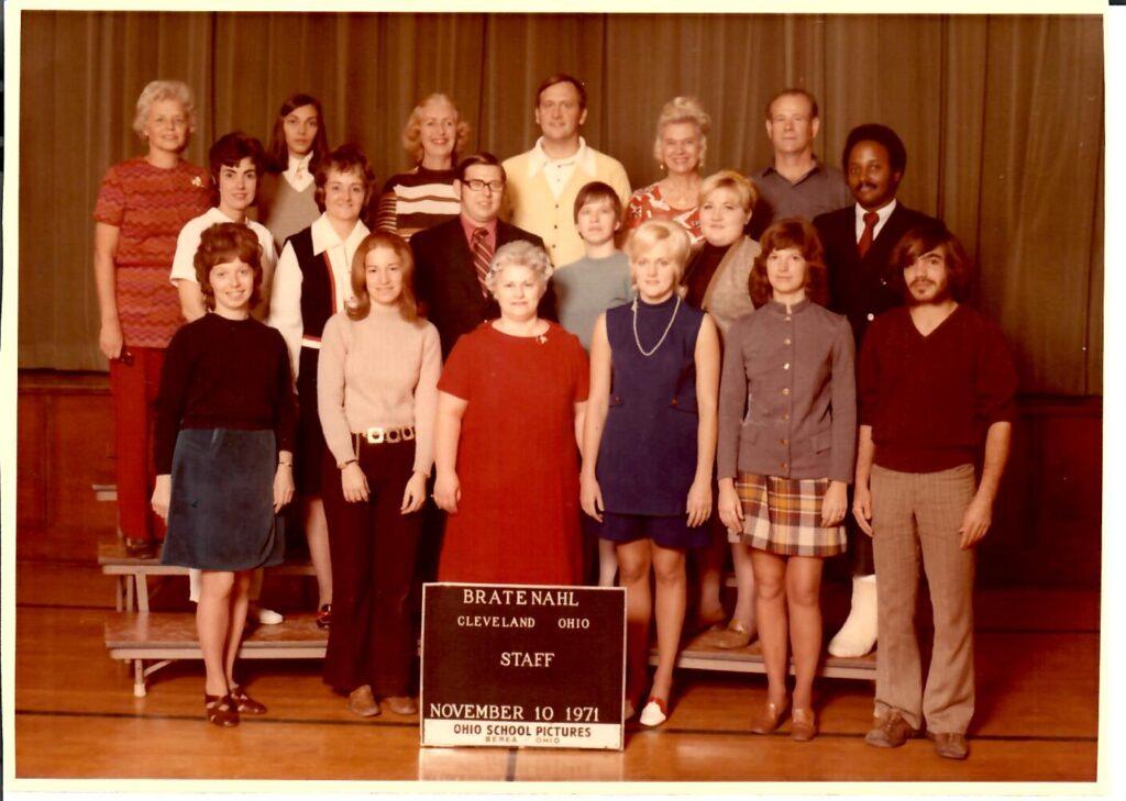 1971-72 School Faculty