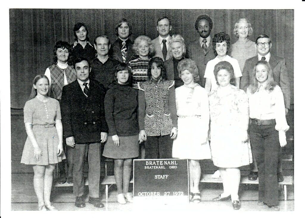 1972-73 School Faculty