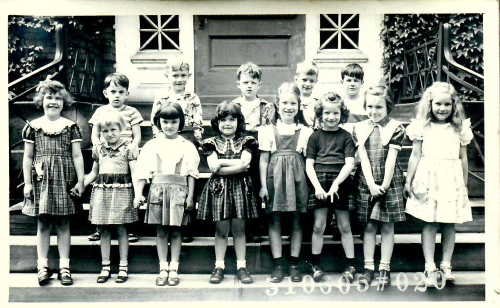 1950-51 Kindergarten