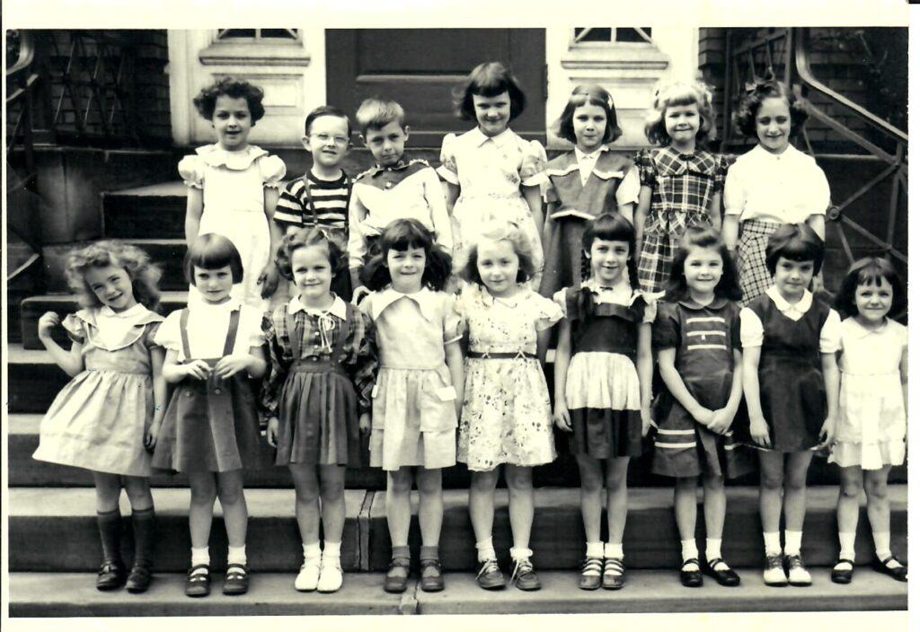 1951-52 Kindergarten