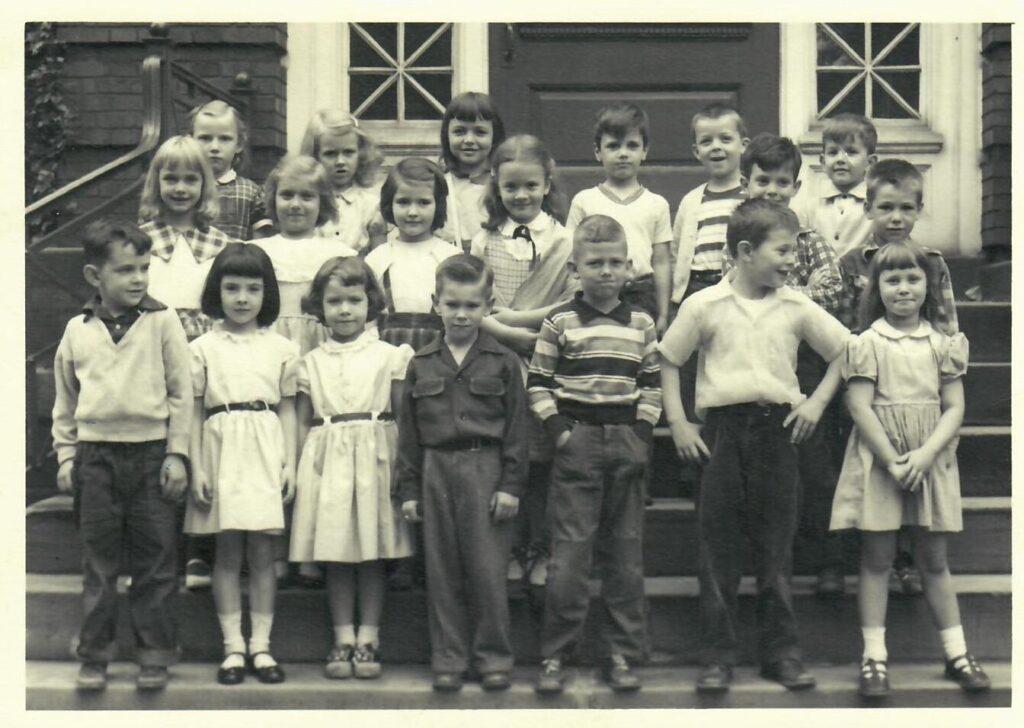 1953-54 Kindergarten
