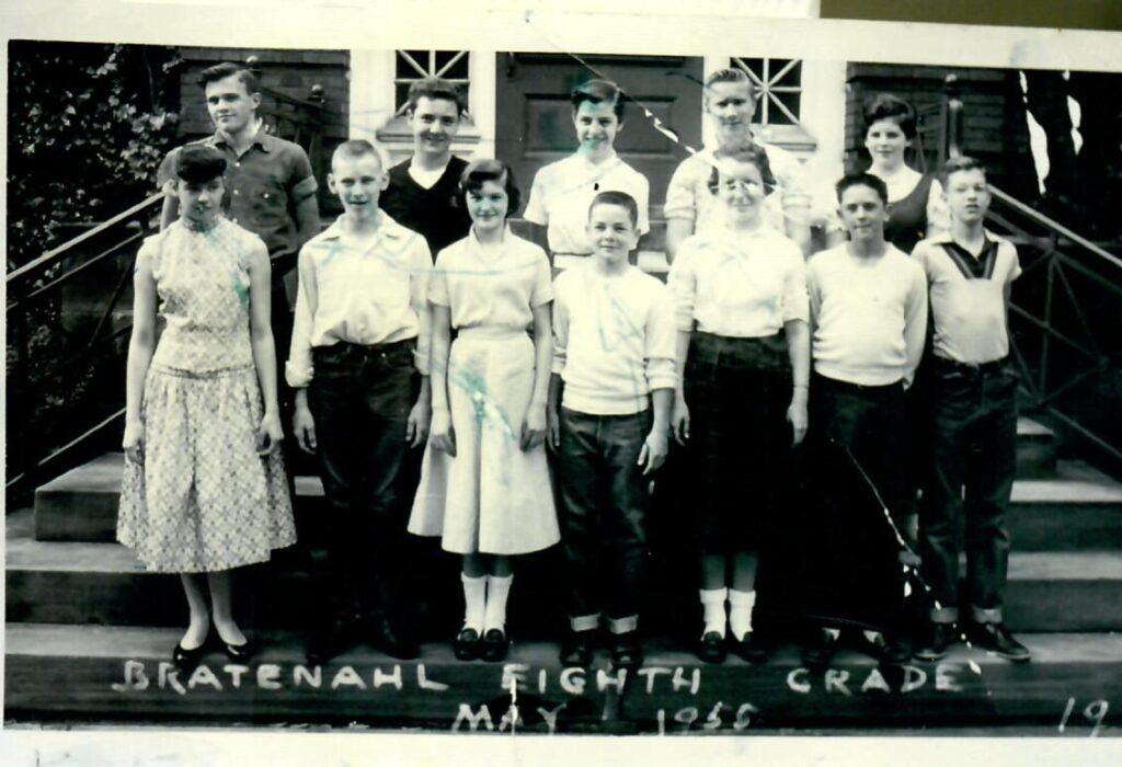1954-55 Grade 8