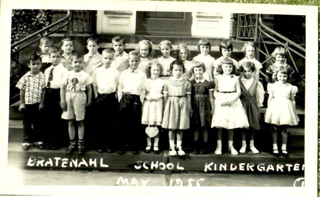 1954-55 Kindergarten