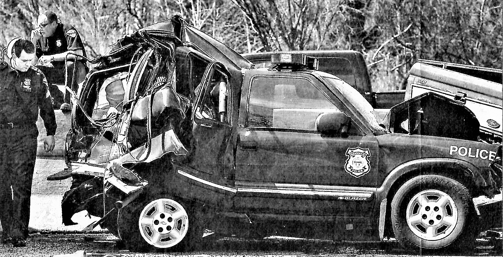 I-90 Police Accident 2006