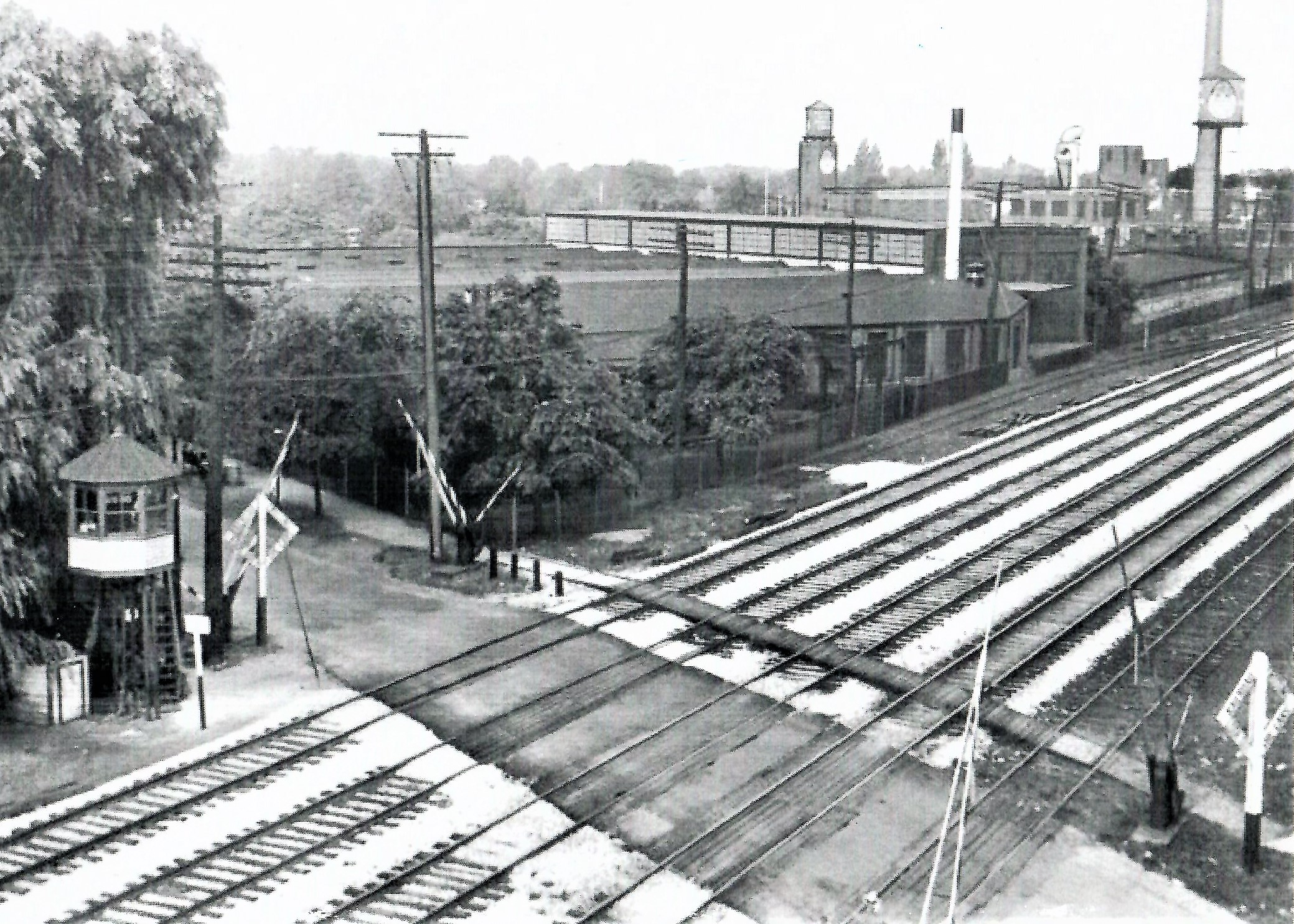 East 105th Railroad Crossing