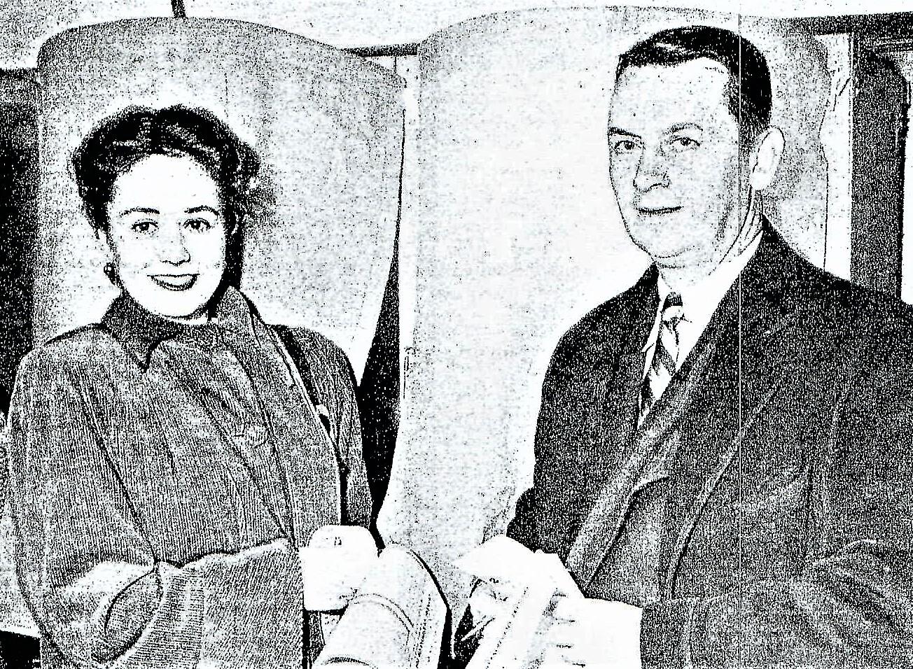 Elisabeth & Eliot Ness 1946