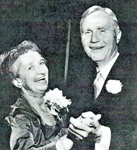 Delia & Herman Vail 1951